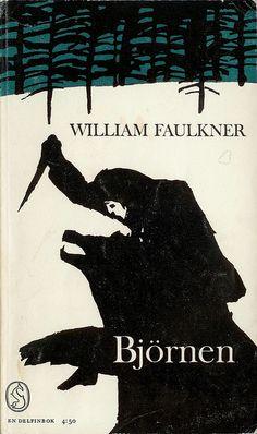 William Faulkner, The Bear, cover by Per Åhlin, 1964