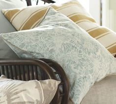 hmmmmm mari pillow, color combinations, barns, pillow covers, throw pillows, baby blues, pottery barn, bedroom, mustard yellow