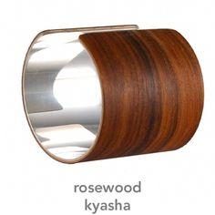Wood+Silver Cuffs