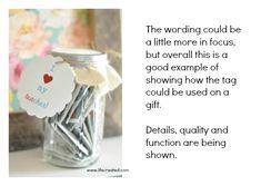 cute gift idea with a mason jar #craft