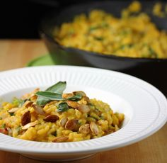 Lisa's Dinnertime Dish: Pumpkin and Caramelized Onion Risotto