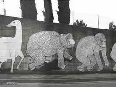blu street art, graffiti art