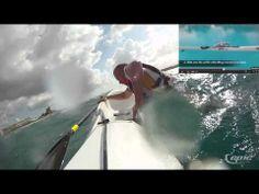 rough water, surfski remount
