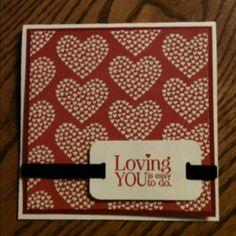 "Simple ""love"" card"