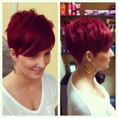 With summer coming, more and more people turn to choose a short hairstyle, which looks cool and luscious. Here, we will suggest some fabulous short red hairstyles which look chic and trendy. Layered short hairstyle is one of the most popular hairstyles that are great for people with a rectangular face and people who bear[Read the Rest]
