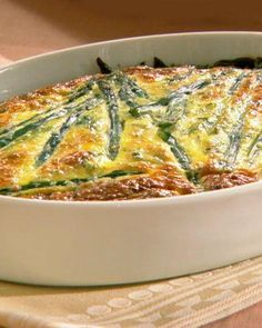 Easter Frittata with Asparagus, Goat Cheese, and Spring Herbs Recipe