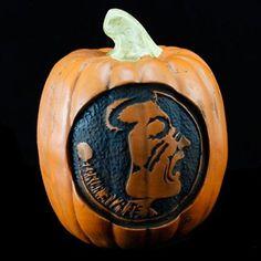 Florida State Seminoles (FSU) Resin Decorative Pumpkin