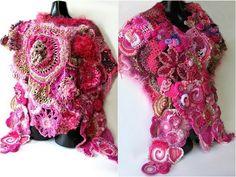 freeform crochet - love!