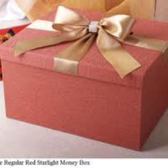 Pink square money box google images