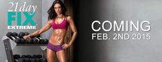 21 Day Fix EXTREME is designed for someone that is needing to lose those last couple of pounds, up the intensity, and get shredded!