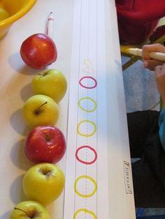Apple patterns by Teach Preschool