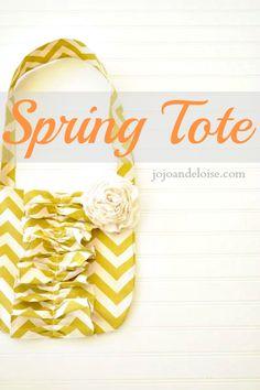 Spring Tote Tutorial