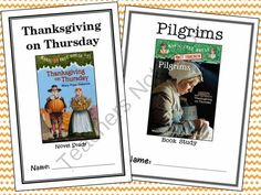 Thanksgiving on Thursday | Pilgrims: Magic Tree House Bundle! Enter for your chance to win 1 of 3.  Thanksgiving on Thursday | Pilgrims Research Guide : Magic Tree House Bundle (54 pages) from McMarie on TeachersNotebook.com (Ends on on 10-26-2014)  This bundle contains a novel study for Magic Tree House #27: Thanksgiving on Thursday and a book study for the companion Research Guide Pilgrims. In total there are 54 pages.  Magic Tree House #27: Thanksgiving on Thursday:  This 31-page ...