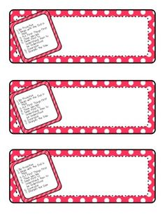 7 Habits Name Tags or Name Plates