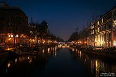 Amsterdam by night by Alessio La Spada on 500px