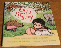 Great book for big brothers or sisters to-be! Would also be a great baby shower gift!