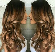 Ombre hairs