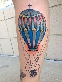 Hot Air Balloon, Matt W Lambdin