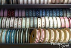Cintas que nos encantan de East of India en Tinta Gris #cintas #craft #manualidades #eastofindia #tintagris