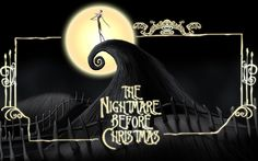 nightmare before christmas wall mural bedroom pinterest. Black Bedroom Furniture Sets. Home Design Ideas