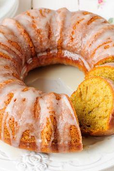 Glazed Margarita Cake Recipe Made with Cake Mix and Instant Pudding