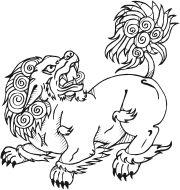 Tibetan Snow Lion