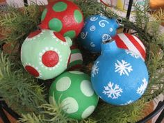 Cute homemade ornament tutorial.
