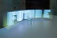 holographic typography - Google Search