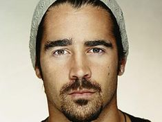 Colin Farrell. A sexy bad boy with an Irish accent and tattoos? Right. Up. My. Alley. ok so u cant see any of his tats but he is so yummy looking