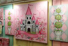 beautiful girl's wall art #hpmkt