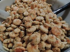 Ranch Oyster Crackers for a Party