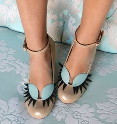 Chie Mihara - Eyelashes Shoes