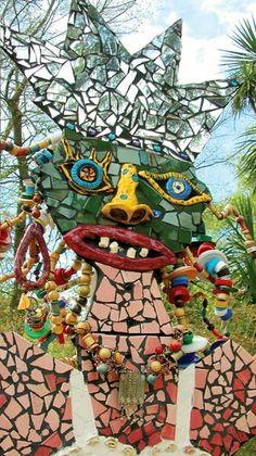 By mosaic artist Pamela Irving
