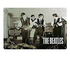 Chapa Retro Beatles - 20x30 IV