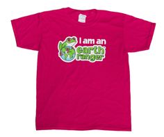 I am an Earth Ranger Youth T-shirt for sale at The Earth Rangers Shop http://www.theearthrangersshop.com/collections/all