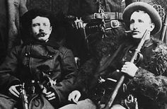 Two of the Wild West's most infamous outlaws, Jesse James and his older brother Frank cut their teeth as Confederate guerrillas in the Civil War. In September 1864, for instance, as part of a group of rebels led by Bloody Bill Anderson, they held up a train, looted it and killed 22 of the 23 unarmed Union soldiers on board, scalping several.
