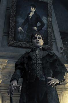 Johnny Depp in Tim Burton's Dark Shadows