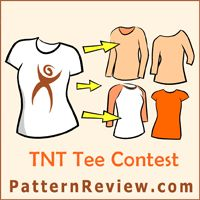 TNT Tee Contest on PatternReview. Using one Tee pattern as the base, create 4 different looks. Join here http://sewing.patternreview.com/cgi-bin/contestreport.pl
