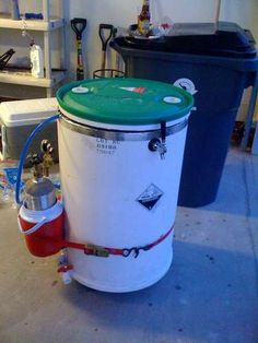 DIY Keg- Better Keg link off this link with a Nice mini fridge!!