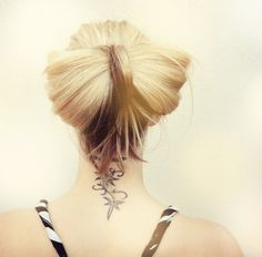 Big floppy hair bow tutorial. #hair #tutorial