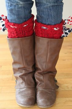 DIY leg warmers @Brooke Good this is our next project! WINTER TIME!