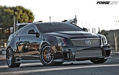 Awesome CTS-V by D3Cadillac on 20-inch Forgeline DE3C Concave wheels. Learn more about the DE3C at: http://www.forgeline.com/products/concave-series/de3c-concave.html