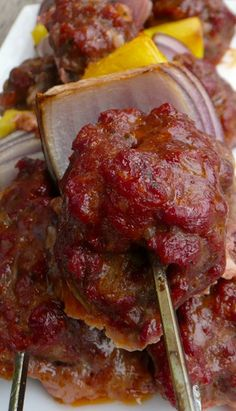 Pineapple Bacon Meatball Kebabs
