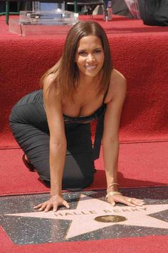 Halle Berry   Hollywood Walk Of Fame Star Walk, Hall Berri, Hollywood Walk, Hollywood Star, Hollywood California, Walk Fame