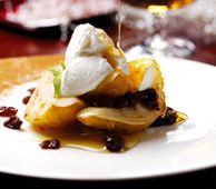 Oven-Baked Pears with FAGE Total Greek Yogurt