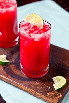 Fresh Plum Margarita