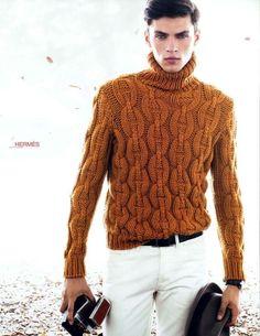 Hermes men's knit wear #fk #fashionkiosk #menswear