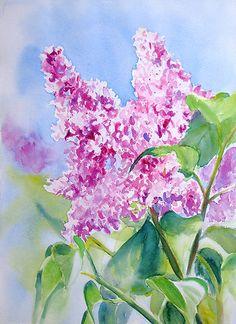 Ruth S Harris Watercolor