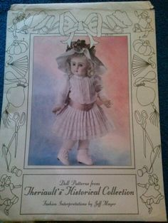 Doll Dress Pattern from Theriault's Historical by RospersEmporium, $17.00