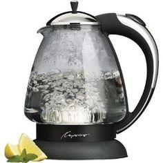 Capresso 259.03 H2O Plus Glass Water Kettle